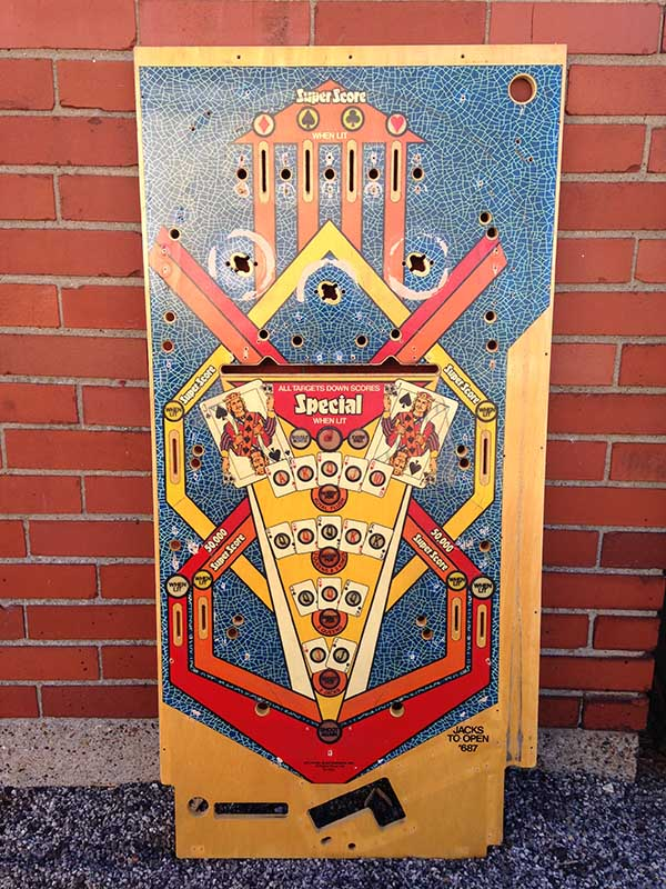 Jacks to Open - 1984 Gottlieb - Cards Poker Gambling