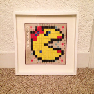 Scrabble Retro Video Game Art