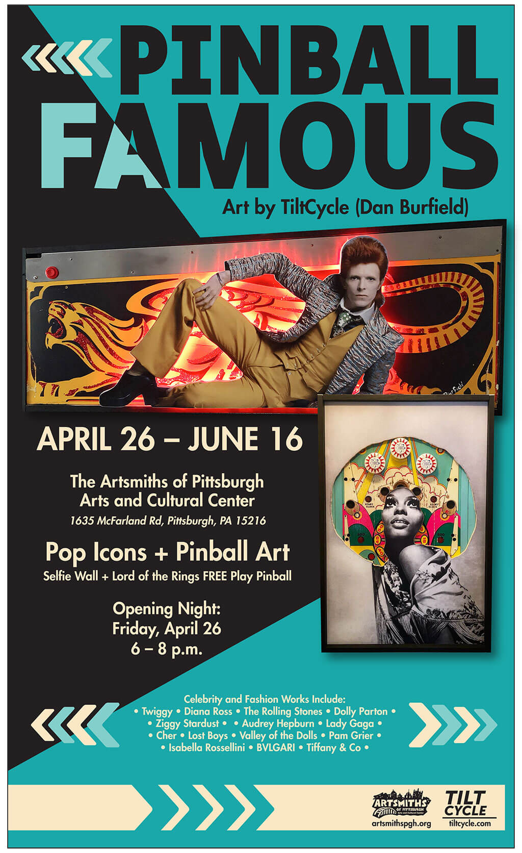 Pinball Famous - Artsmiths of Pittsburgh