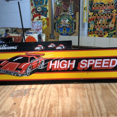 High Speed – 1986 Williams