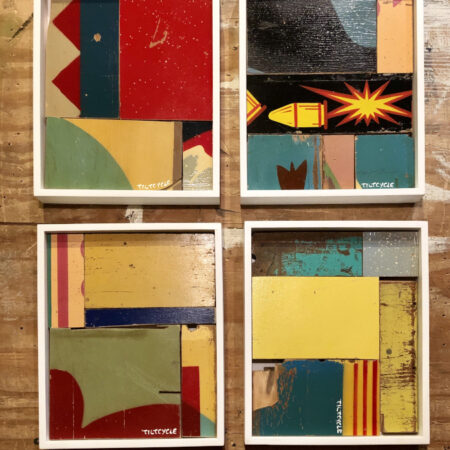 Abstract Mosaic Collage