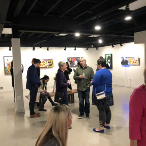 Pinball Famous Gallery Opening